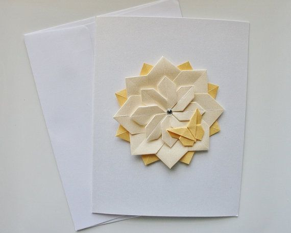 Origami cardshandmade card setseeting cardsrthday cardsank origami cardshandmade card setseeting by thepaperdecor on etsy bookmarktalkfo Image collections