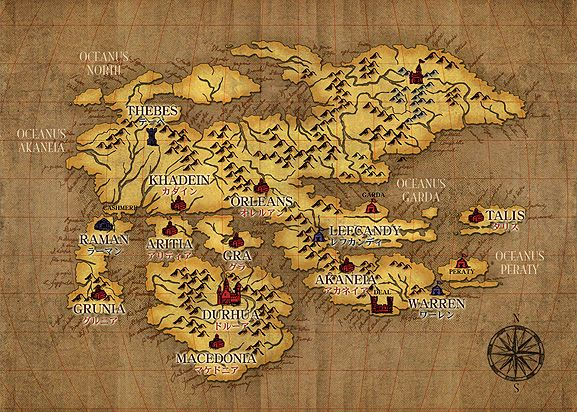 Fire Emblem World Maps Fire Emblem