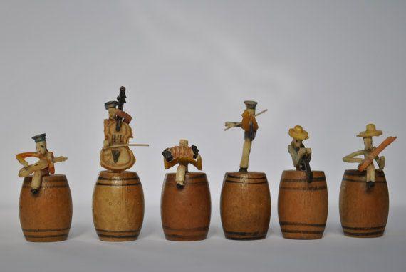 Vintage 1950's Miniature Rag Time Band - Japan