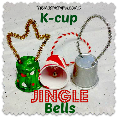 what can you do will all of your used k cups i want to find out the first thing i made were these used k cup jingle bells