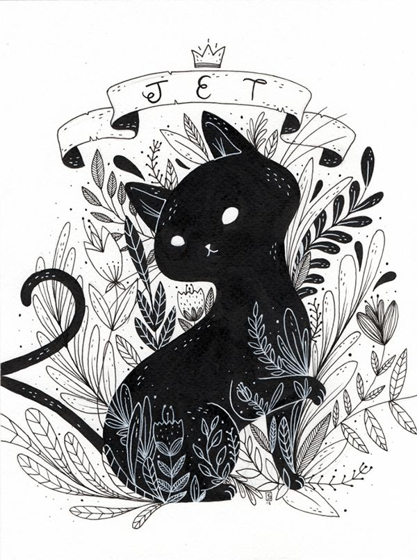 pin by isabel garcia on cats ilustrations pinterest cat illustrations and drawings