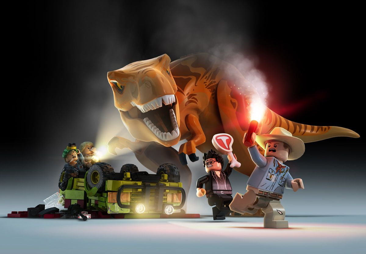 Lego jurassic world videogame key art and promo images on behance lego jurassic world videogame key art and promo images on behance gumiabroncs Images