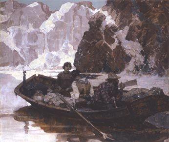 MEAD SCHAEFFER (1898-1980) - ALASKA III