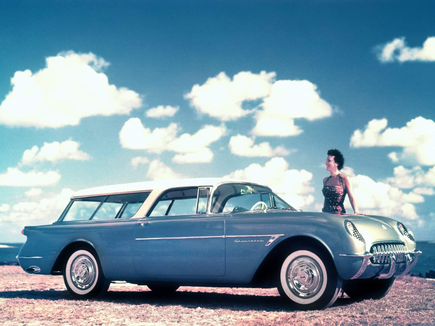 When you want a sports car and a wagon The 1954 Corvette Nomad