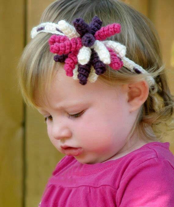 Balaca con flor Headband | tejido | Pinterest | Kostüm