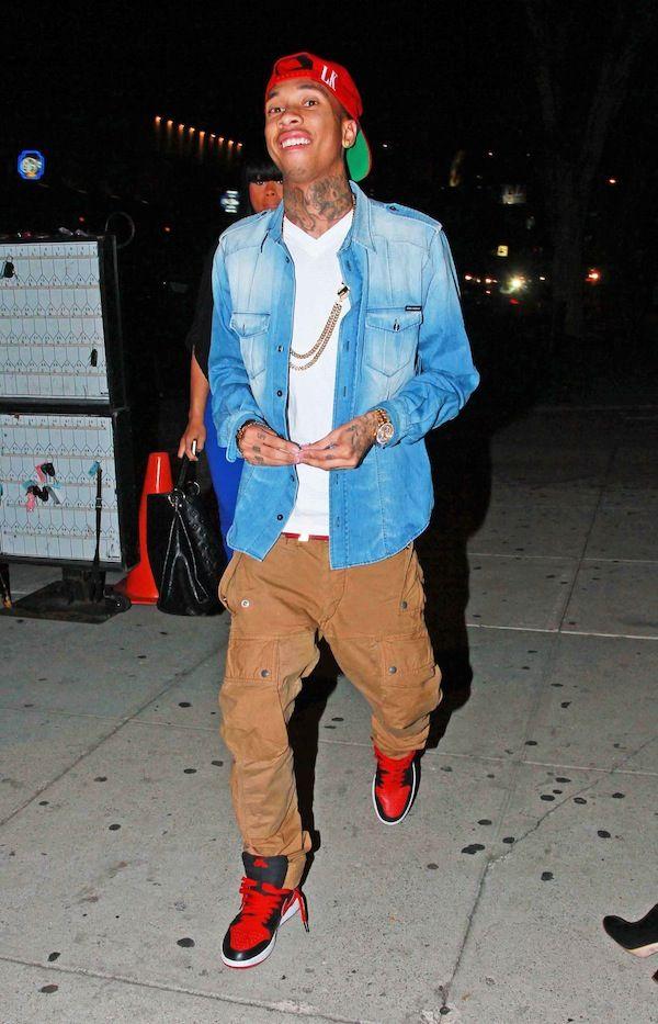 Chris Brown Fashion Week Milano