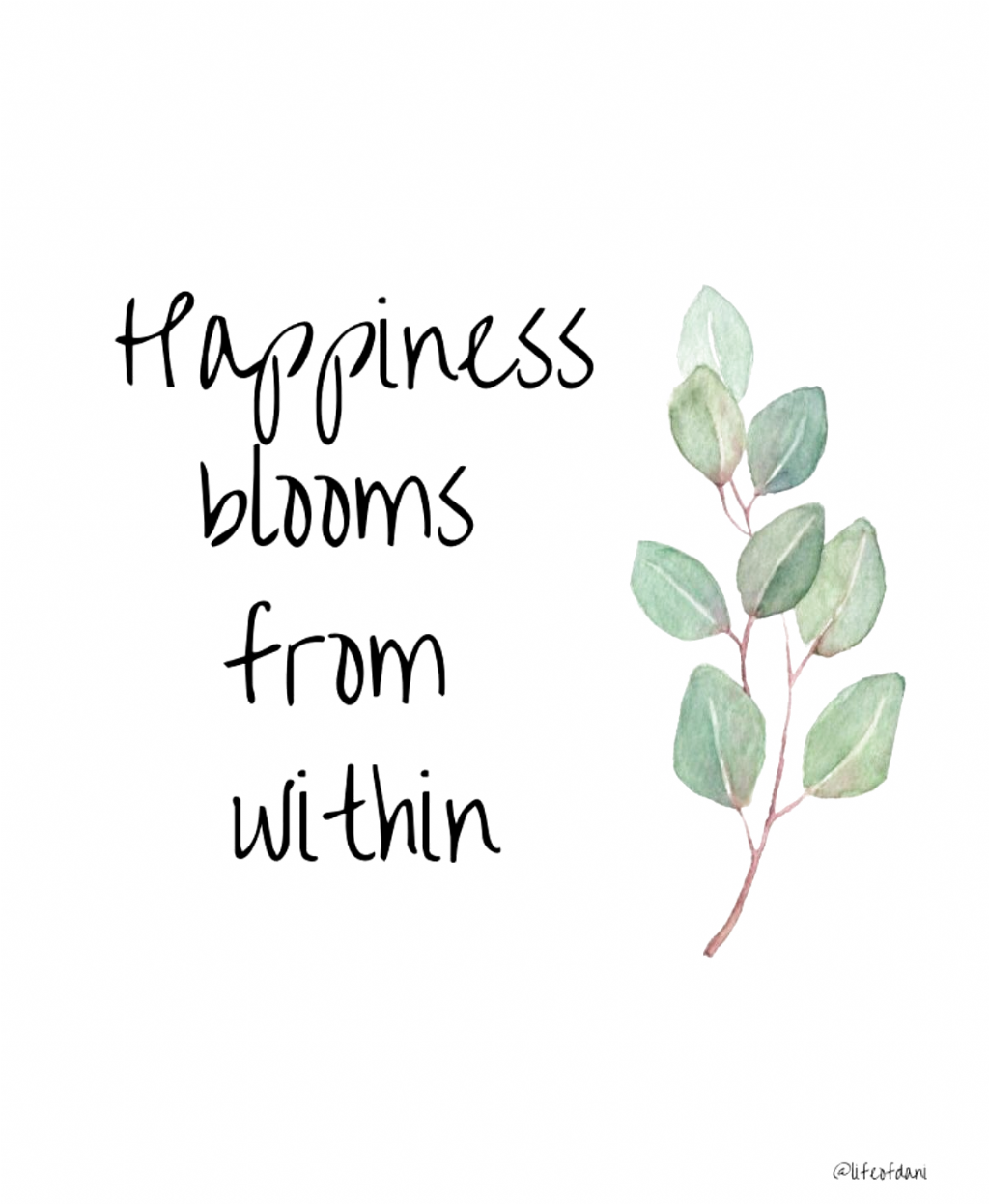 Digital download for instant home decoration #homedecor #inspirational #quotes #happiness #digital #etsy #etsyseller #wallart #flowers #printables #Eyebrows