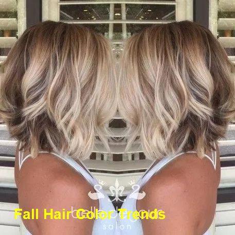 trending fall hair color ideas hairstyle  short hair