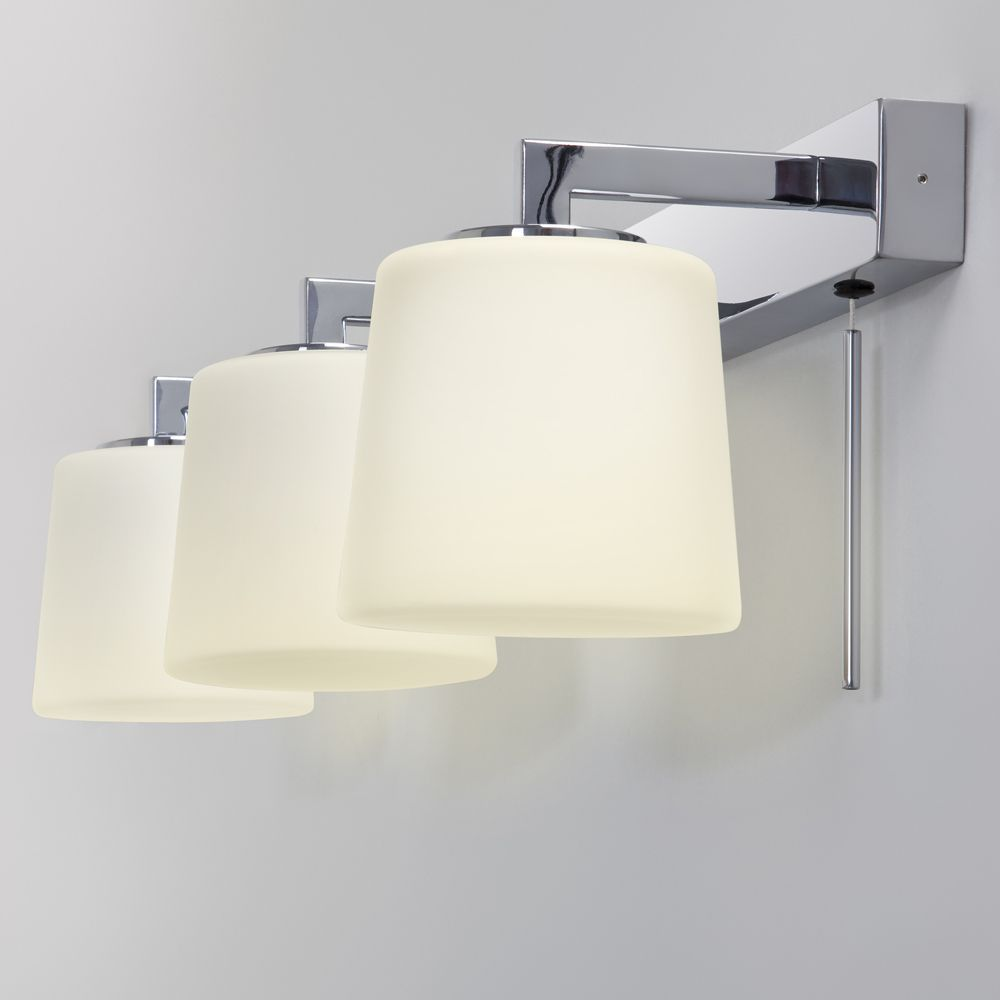 Bathroom Wall Lights Above Mirror The Triplex Bathroom Mirror Wall Light Is Suitable For Mounting