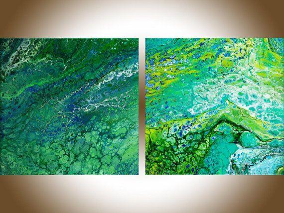 Abstract Art Original Artwork Canvas Art Office Wall Art