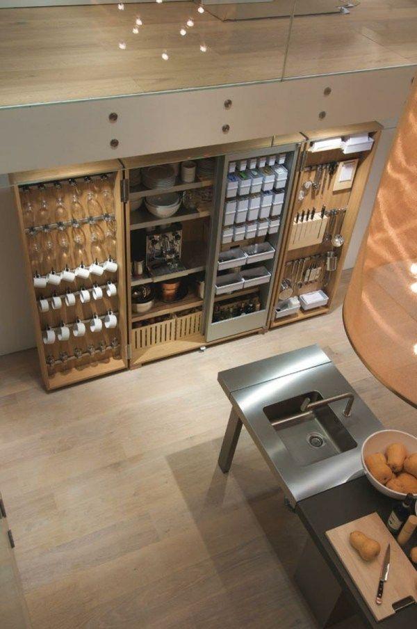 Küchen Stauraum-Bulthaup | Küche | Pinterest | Stauraum, Bulthaup ...