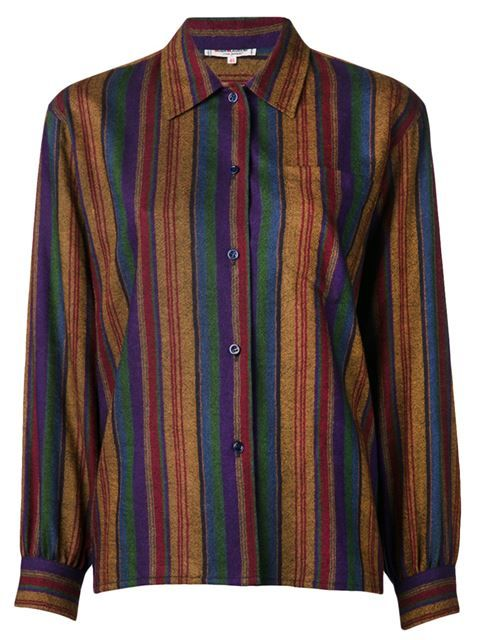 Shop Yves Saint Laurent Vintage striped blouse in Decades from the world's best independent boutiques at farfetch.com. Over 1000 designers from 300 boutiques in one website.