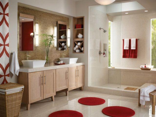 couleur peinture salle de bain tendance fürdőszoba Pinterest
