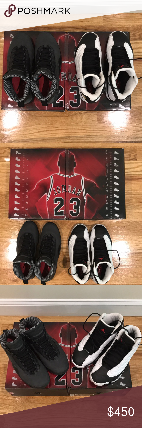 best service ece10 e4ba3 Air Jordan 10 13 Countdown Package Size 10.5. Air Jordan 10 13 Countdown  Package. Both pairs are in excellent condition. Each pair only worn twice.