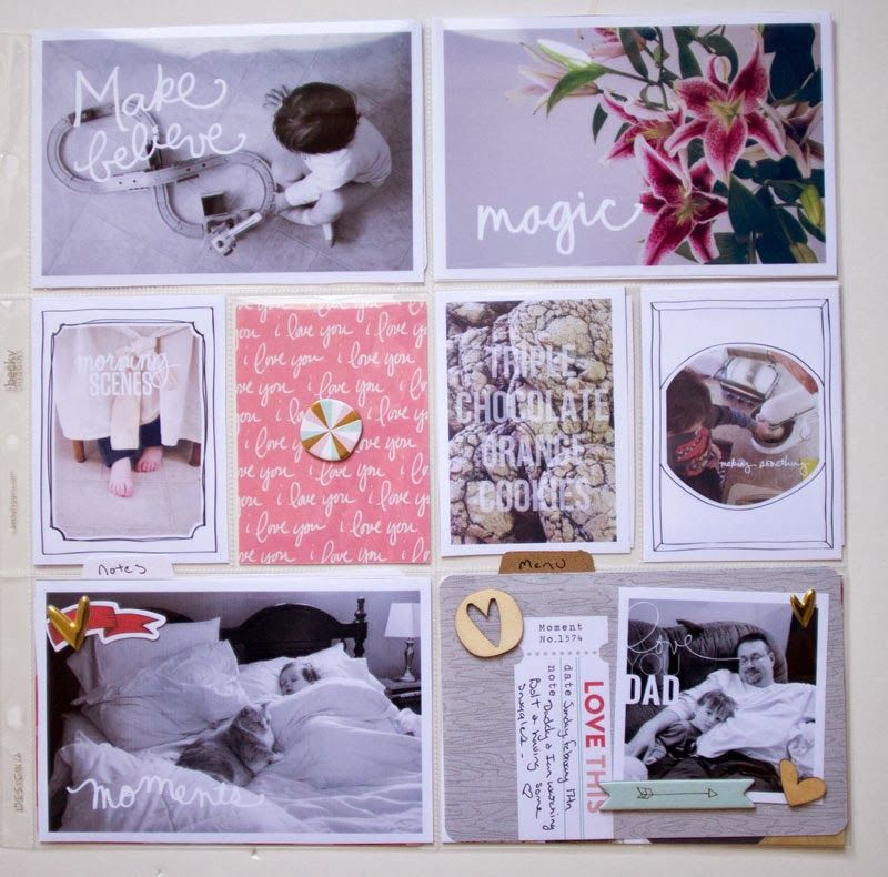 little lamm & co: Project Life 2014 │ Week 7 & Freebie Medal Count Card