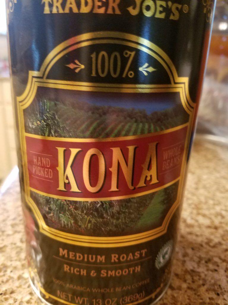Trader Joe's Kona Coffee Kona coffee, Watermelon