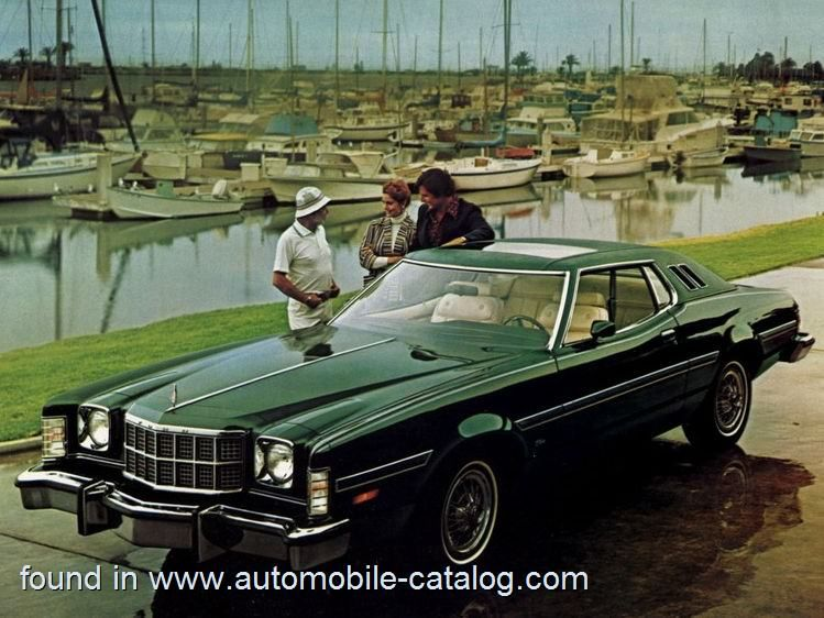 Ford Elite 400 V 8 Cruise O Matic 1976 Ford Grand Torino Old Muscle Cars