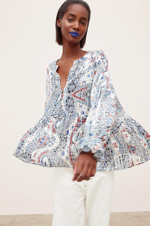 Women S Shirts Blouses New Collection Online Zara United States Shirts Women Fashion Blouse Dress Outfit Women Shirts Blouse