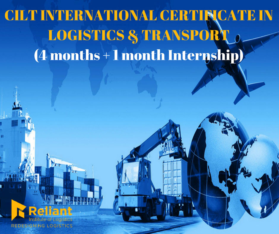 CILT INTERNATIONAL CERTIFICATE IN LOGISTICS & TRANSPORT (ICLT ...