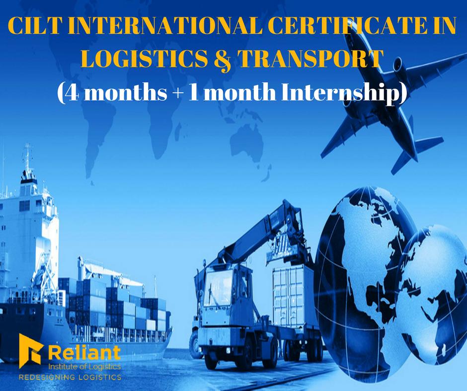 Cilt International Certificate In Logistics Transport Iclt