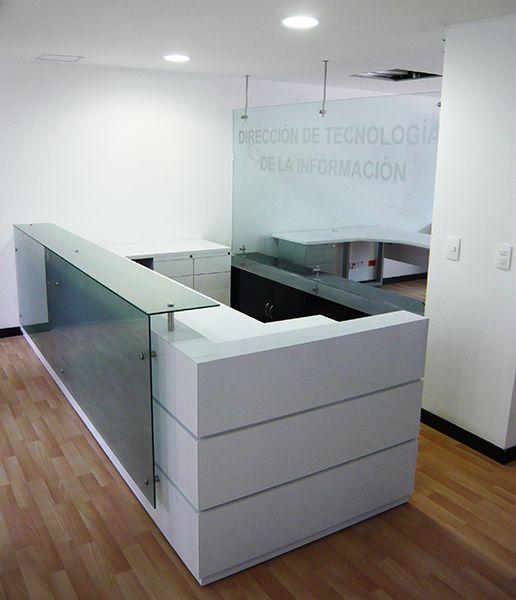 Gallery ideo objeto dise o muebles de recepcion - Mostradores para oficinas ...