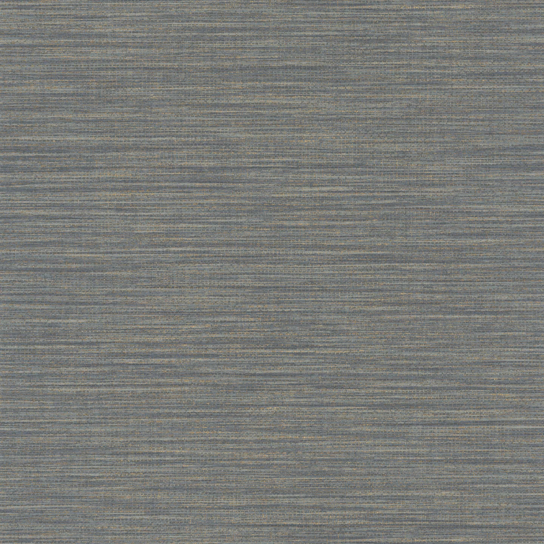 Papier peint vinyle Wara gris moyen métallique CASELIO