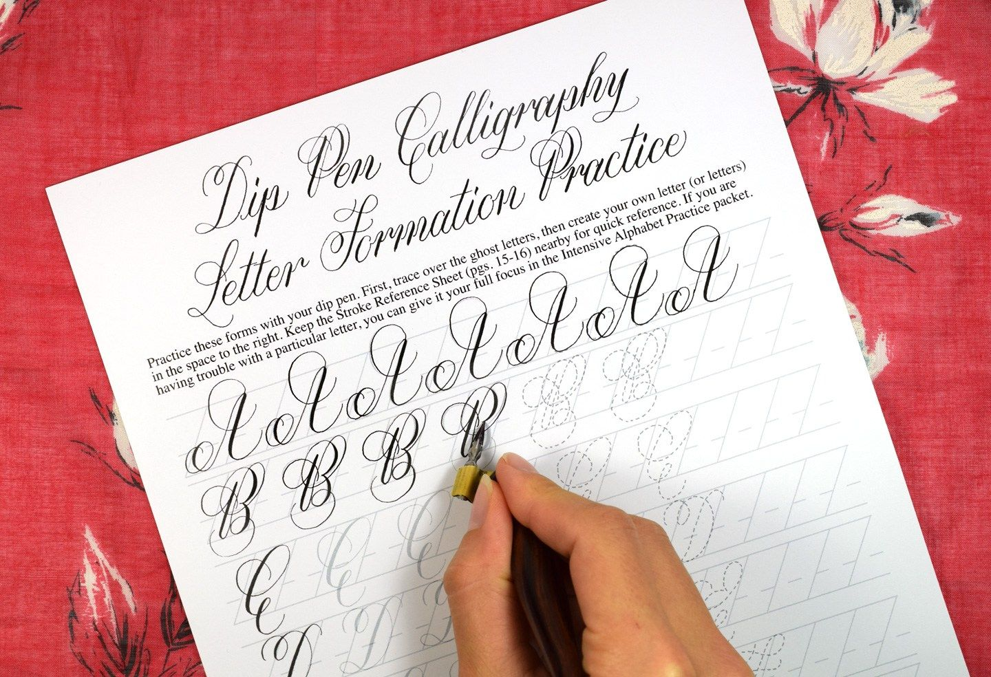 About Calligraphy Slant Lines
