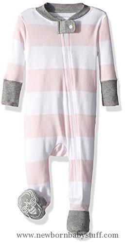 Burts Bees Baby Clothes New Baby Girl Clothes Burt's Bees Baby Ykk Zip Front Sleeper 69 Months Decorating Design
