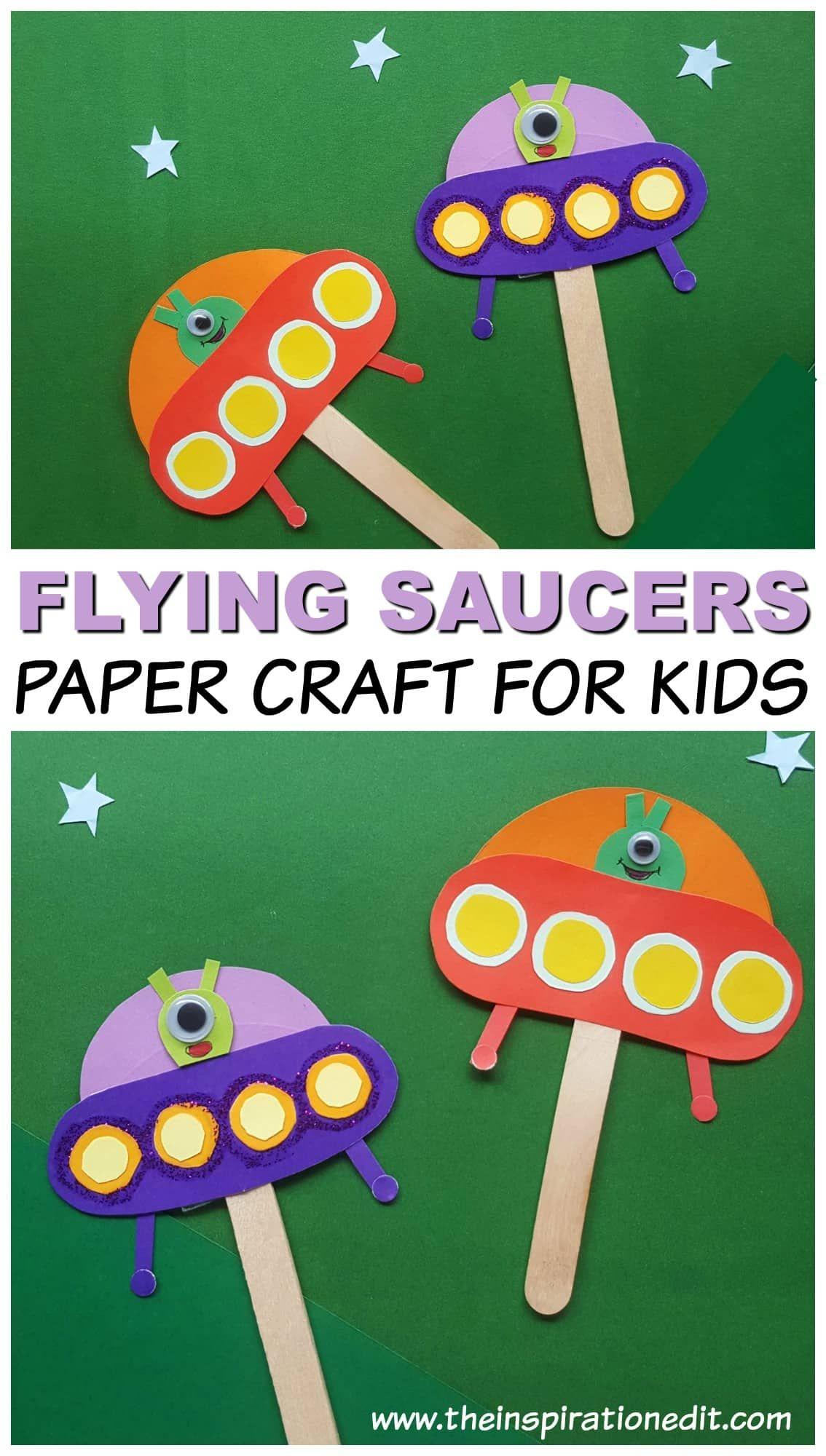 Spaceship Alien Craft For Kids · The Inspiration Edit