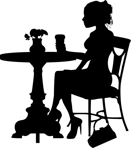 african american family silhouette click here to download woman drinking coffee svg