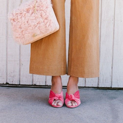 Coco High Heel Knot Slide | Fashion, Style, Watermelon shoes