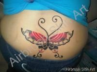 Butterfly - www.AirbrushSkinArt.com