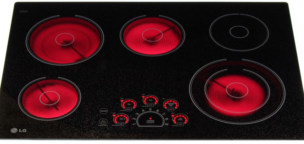 Lce3010sb 30 Inch Lg Electric Cooktop Reviews Electric Cooktop Cooktop Electricity