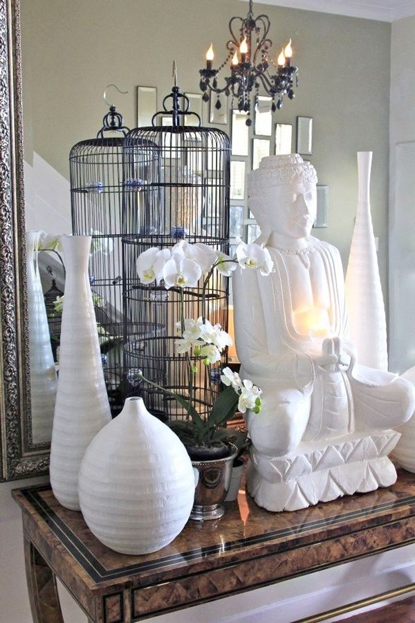 35 Buddha Oriented Living Room Decoration Ideas #buddhadecor
