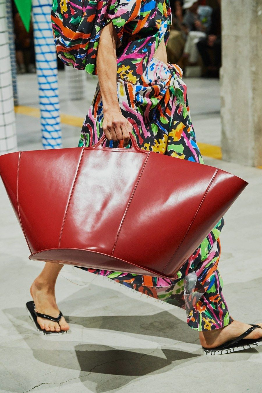 Marni Spring 2020 Ready To Wear Fashion Show Bags Leather Handbags Designer Shoulder Bags