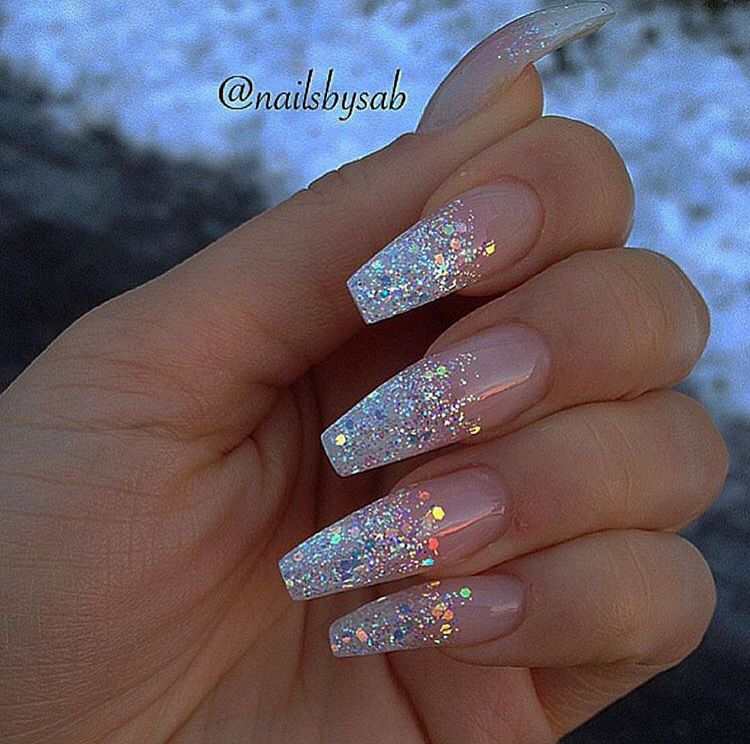 In This Post You Can See The Short Coffin Shaped Nails Designs Here Are Acrylic Matte Long Glitter