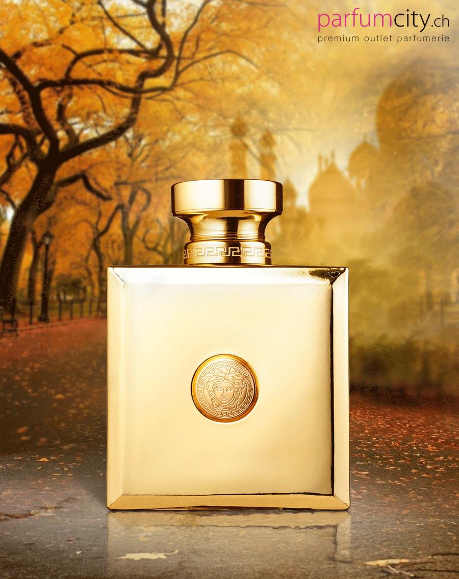 Erleben Sie Puren Luxus Versace Pour Femme Oud Oriental реклама