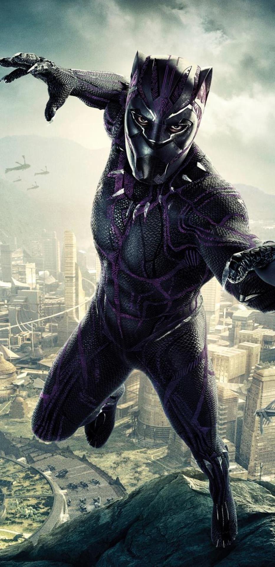 Black Panther Black Panther Hd Wallpaper Black Panther Black Panther Chadwick Boseman