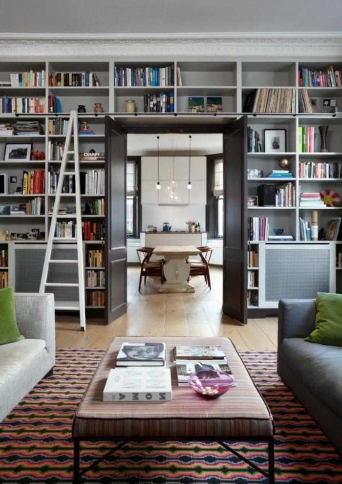 ▷ 1001 + Ideas de decoración con librerías para tu casa | Librerías ...
