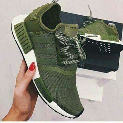 zapatillas adidas mujer verde militar
