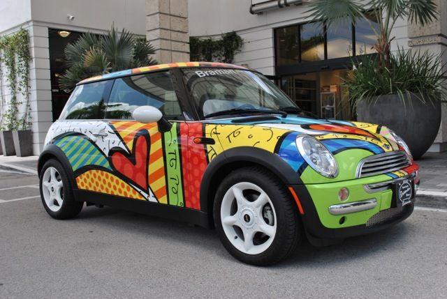 Braman Mini Of Miami Britto Mini Art Britto Art Romero Britto