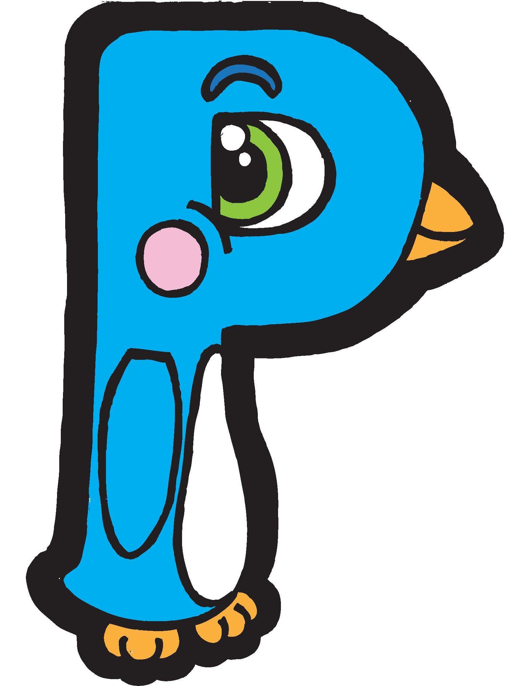 P Penguin Alphapet By Brendan Klos Brendanklos