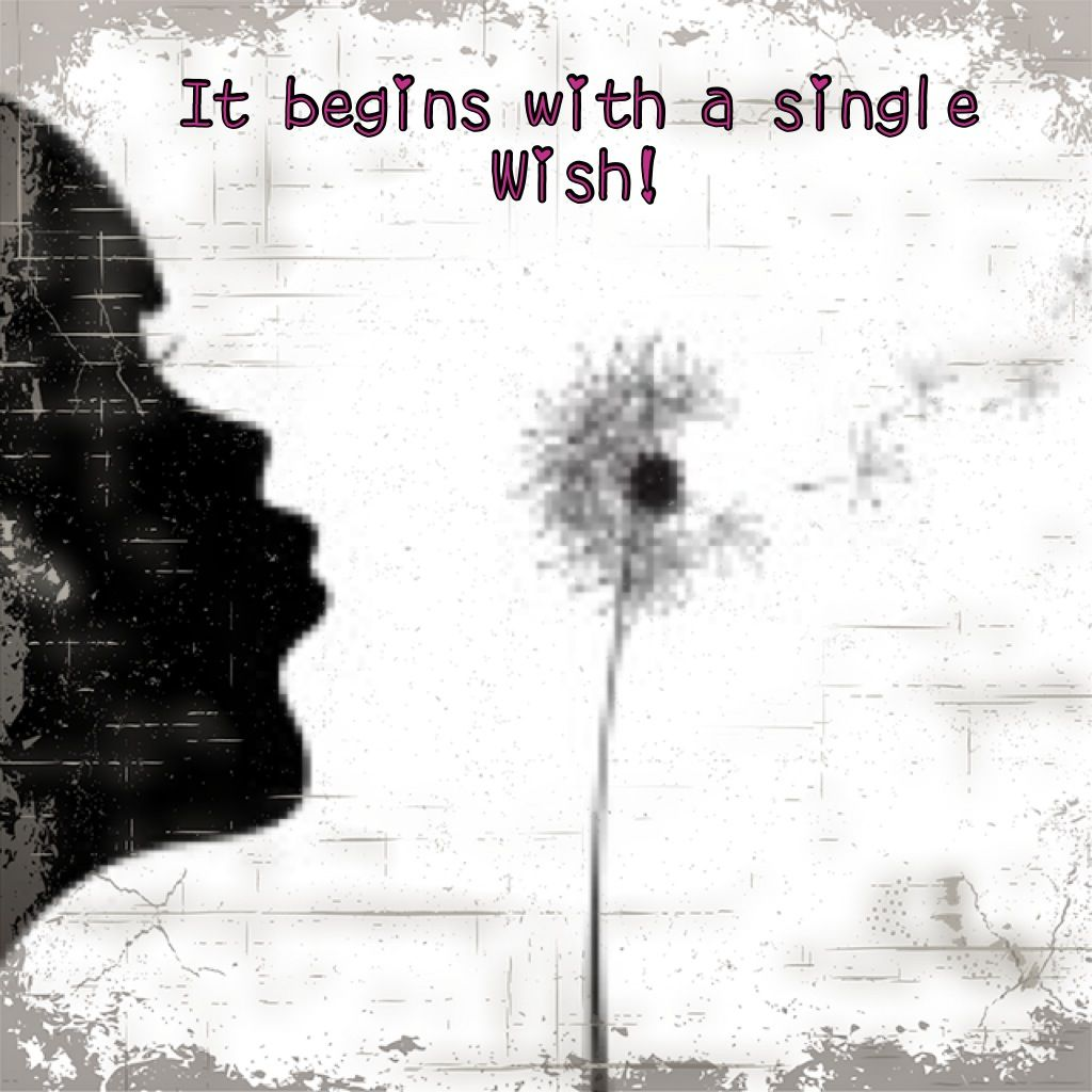 It begins with a single wish!