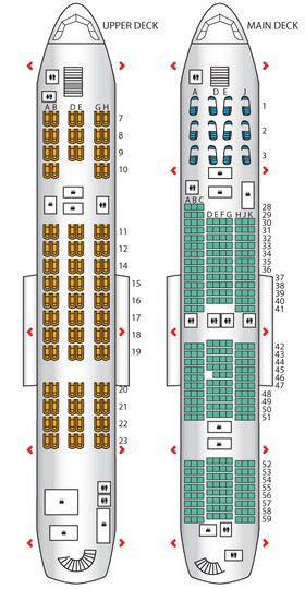 Korean Air S Version Of The Superjumbo With An All Business Class