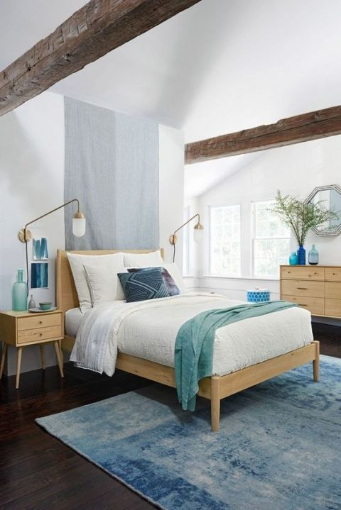 Modern Coastal Bedroom Inspiration Coastal Bedroom Decorating