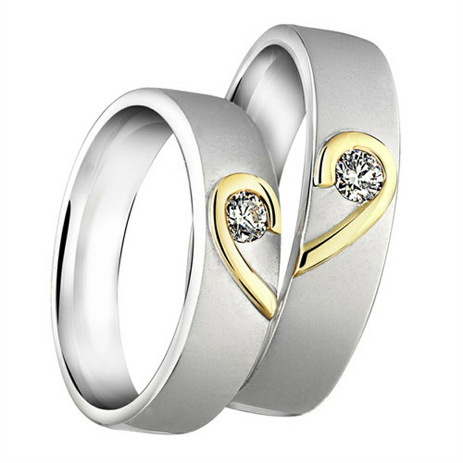 Gambar Cincin Tunangan Untuk Calon Pengantin Selingkaran Com Rings Wedding Rings Gold Ring Designs