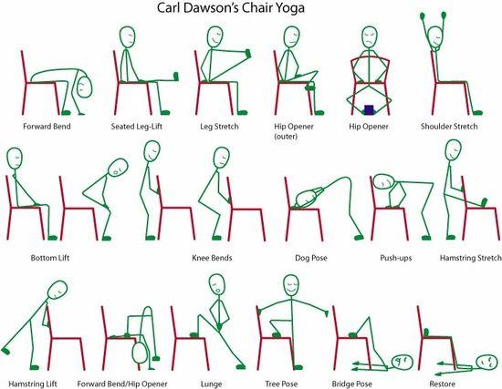 posture ideas for seniors yoga yoga pinterest yoga chair pose