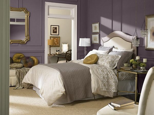 introducing the 2014 color of the year exclusive plum sw a sophisticated violet is sherwin williams color of the year the hue a balance of cool - Bedroom Colors 2014