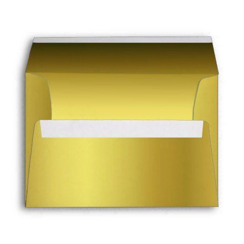 elegant metallic gold 5 x 7 invitation envelope invitation envelopes