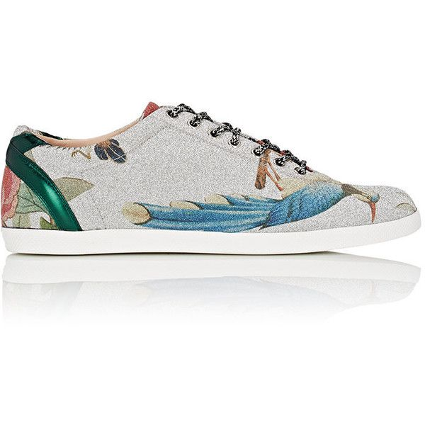 b2f8a197dcab0 Gucci Men s Bambi Glitter Fabric Sneakers ( 650) ❤ liked on Polyvore  featuring men s fashion
